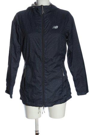 New Balance Softshell Jacket blue flecked casual look
