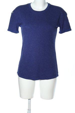 New Balance T-Shirt blau meliert Casual-Look