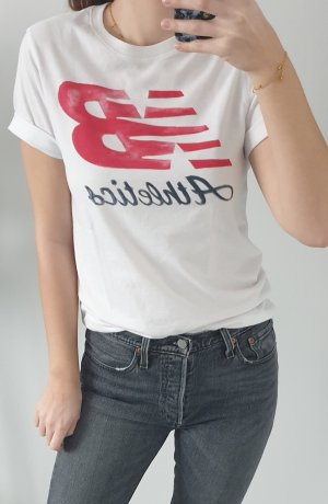New Balance T-Shirt mit Logo Aufdruck