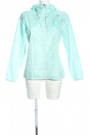 New Balance Windbreaker turquoise printed lettering casual look