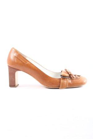 new collection Loafer arancione chiaro stile casual