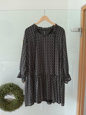 new collection Tunic Dress black-beige