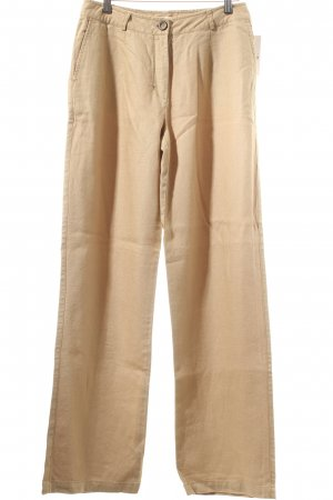 new collection Leinenhose hellbraun Casual-Look