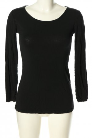 new collection Longsleeve schwarz Casual-Look