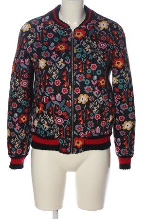 new collection Chaqueta de entretiempo estampado floral look casual