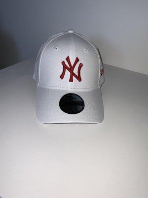 New Era Berretto da baseball bianco-rosso