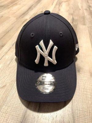 New Era Berretto da baseball blu scuro-bianco