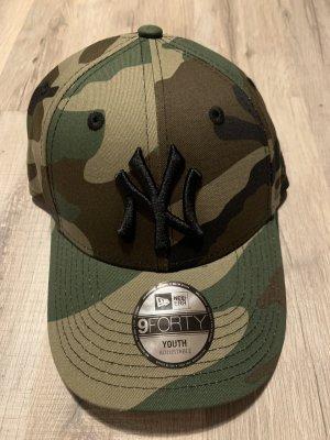 New Era Sombrero de ala ancha gris verdoso-verde grisáceo