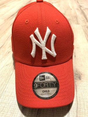New Era Casquette de baseball rouge-blanc