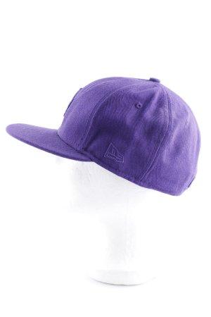 New Era Casquette de baseball violet lettrage brodé style décontracté