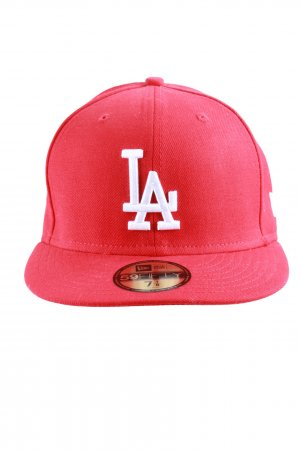 New Era Gorra de béisbol rojo-blanco look casual