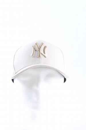 New Era Berretto da baseball bianco sporco stile casual