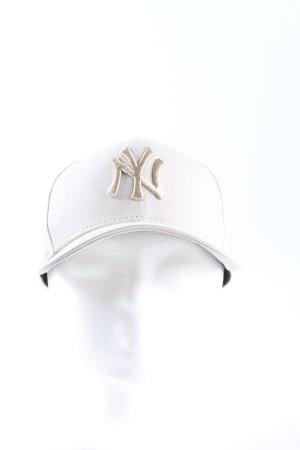 New Era Baseball Cap natural white casual look