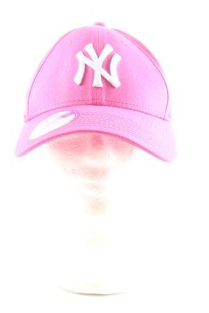 New Era Berretto da baseball rosa stile casual