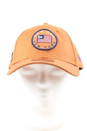 New Era Gorra de béisbol naranja claro look casual
