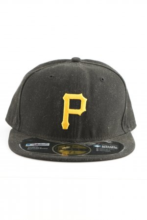 New Era Berretto da baseball nero-giallo pallido stile casual
