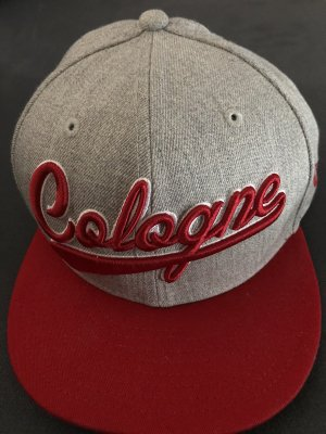 New Era Baseball Cap grey-red