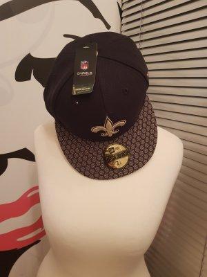 New Era Gorra de béisbol negro-color oro