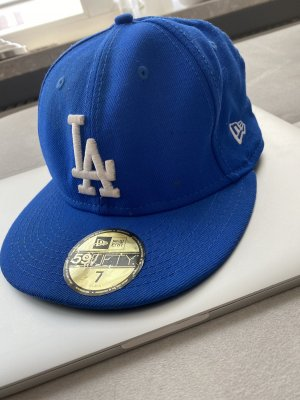 New Era Baseball Cap blue-white