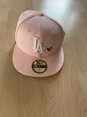 New Era Sombrero de ala ancha rosa