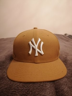 New Era Baseball Cap sand brown