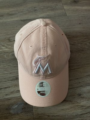New Era Berretto da baseball rosa pallido