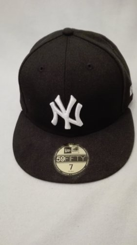 New Era Visor Cap black