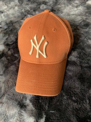 New Era Casquette de baseball orange foncé