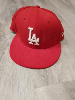New Era Baseball Cap red