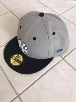 New Era Baseball Cap black-grey