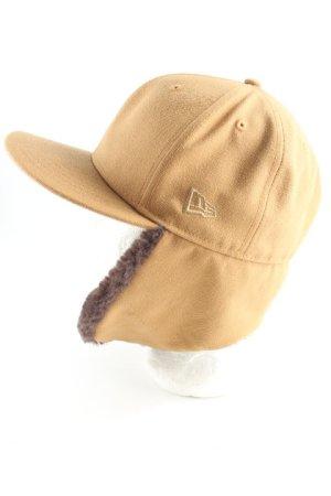 New Era Chapeau d'aviateur chameau-brun foncé style extravagant