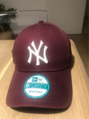 New Era Berretto da baseball bordeaux