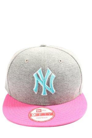 New Era Cappello con visiera puntinato stile casual