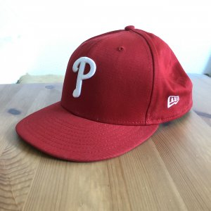 New Era Snapback P rot Gr 9/50 S/M Kappe cap basecap