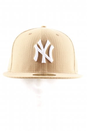 New Era Sombrero de ala ancha marrón claro estilo deportivo