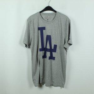 New Era T-Shirt Gr. XL grau Print NEU (20/08/155*)