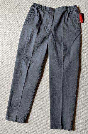 New Fashion Jeansy ze stretchu szary-ciemnoszary Bawełna