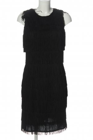 New Fast Fringed Dress black elegant