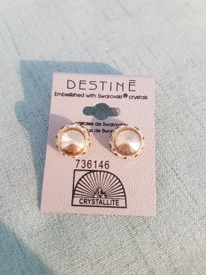New Gold tinted Studs
