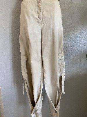 NA-KD Pantalon cargo brun sable coton