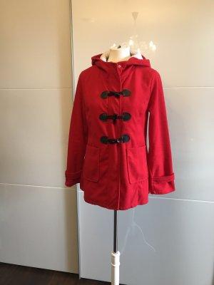 New Light Fashion Short Coat red-black