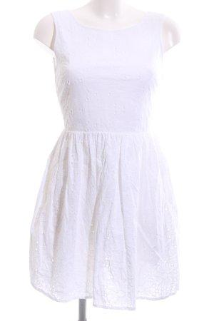 New Look A-Linien Kleid weiß Casual-Look