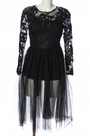 New Look A-Linien Kleid schwarz Elegant