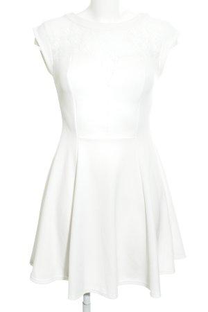 New Look A-Linien Kleid weiß klassischer Stil