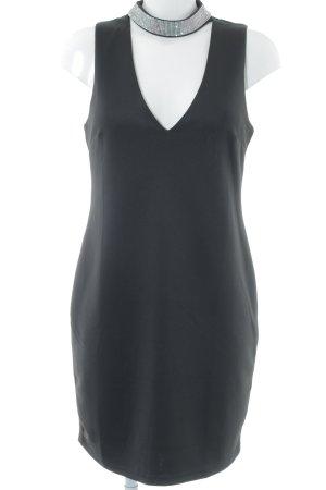 New Look Abendkleid schwarz-silberfarben Elegant