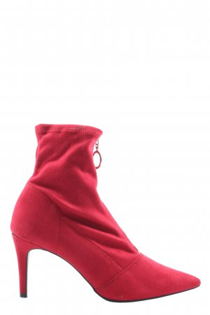 New Look Absatz Stiefel rot Casual-Look