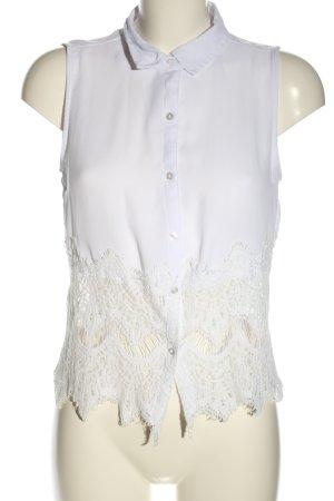 New Look Blusa senza maniche bianco-bianco sporco stile casual