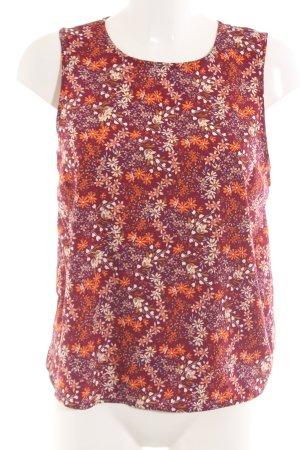 New Look ärmellose Bluse Blumenmuster Casual-Look