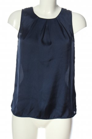 New Look Blusa sin mangas azul look casual