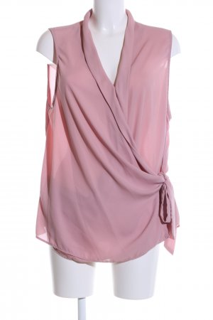 New Look ärmellose Bluse pink Casual-Look